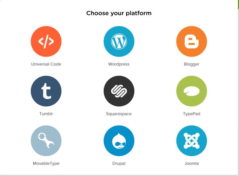 Выбираем платформу, на которой наш сайт работает