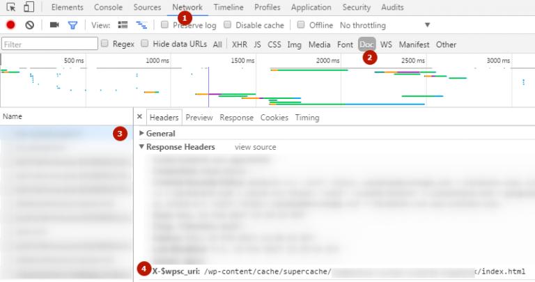 Как проверить заголовки в консоли F12 Googe Chrome