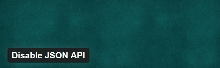Плагин WordPress для отключения wp-json - Disable JSON API