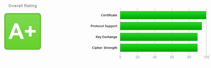 Результат тестирования SSL/TLS
